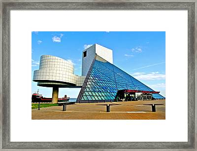 Rock N Roll Hall Of Fame Framed Print
