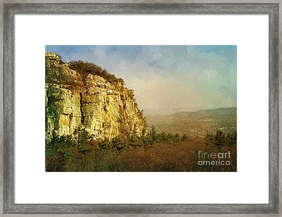 Rock Of Ages Framed Print by A New Focus Photography