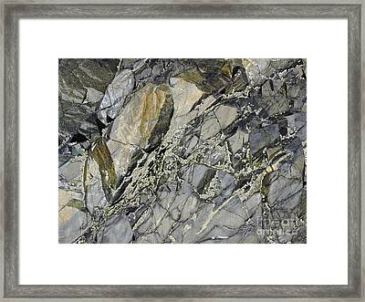 Rock Of Ages Framed Print