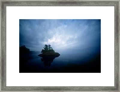Rock Of Life Framed Print by Jeff Rotman
