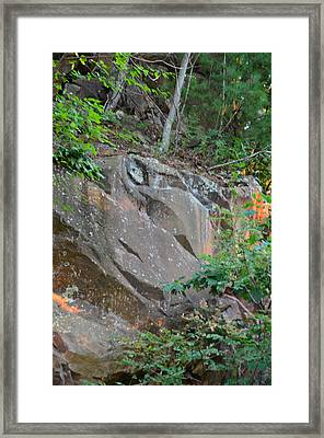 Rock On Hokie Bird Framed Print