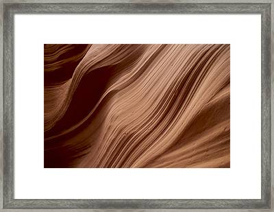 Rock Pattern 1 Framed Print by T C Brown