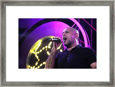 Rock Performance Framed Print by Money Sharma