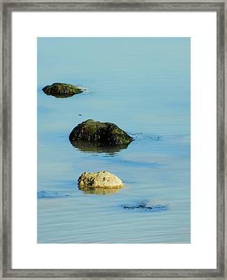 Rock Pool Framed Print by Sharon Lisa Clarke
