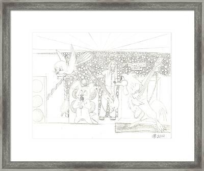 Rock Prospect Framed Print by Daryl Schooley