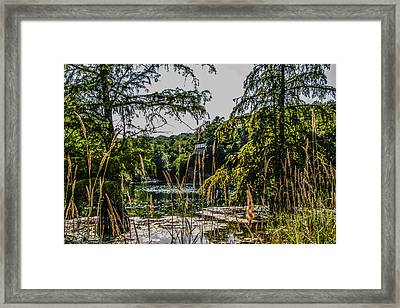 Framed Print featuring the photograph Rock Quarry by Ray Congrove