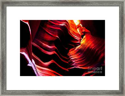 Belly Of The Beast Framed Print by Az Jackson