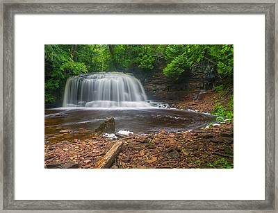 Rock River Falls Framed Print