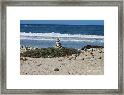 Rock Sculpture 2 Framed Print
