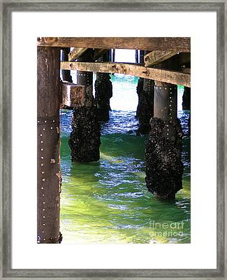 Framed Print featuring the photograph Rock Solid by Margie Amberge