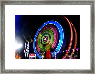 Rock Star - New Year's Eve 2012 Framed Print by Kaye Menner