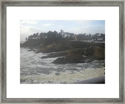 Rock Steady Framed Print