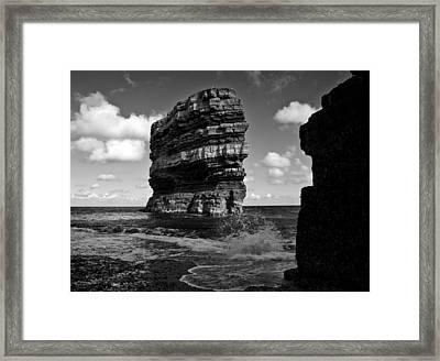 Rock Framed Print by Tony Reddington