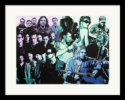 Stone Temple Pilots Framed Prints