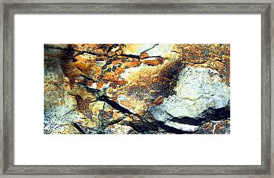 Rock Wasatch National Forest Ut Usa Framed Print by Panoramic Images