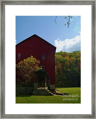 Framed Print featuring the photograph Rockbridge Mill by Julie Clements