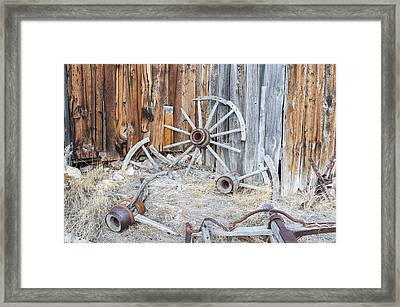 Rocked A Little To Hard Framed Print by Fran Riley