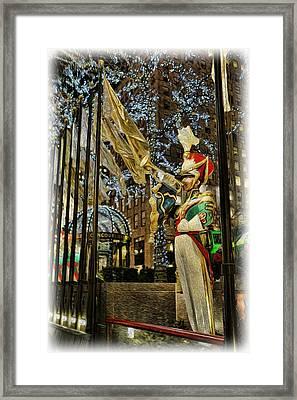 Rockefeller Bugle Boy II Framed Print by Lee Dos Santos