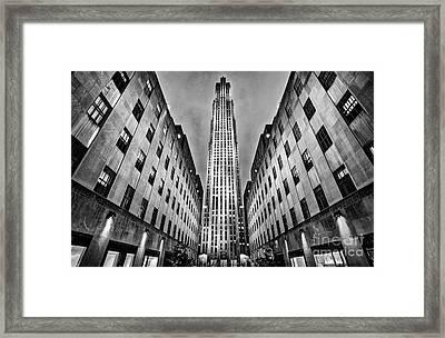 Rockefeller Centre Framed Print by John Farnan