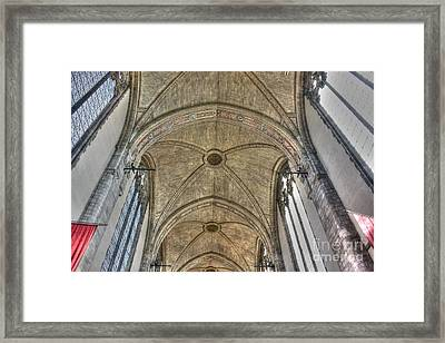 Rockefeller Memorial Chapel Framed Print by David Bearden