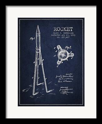 Space Exploration Digital Art Framed Prints