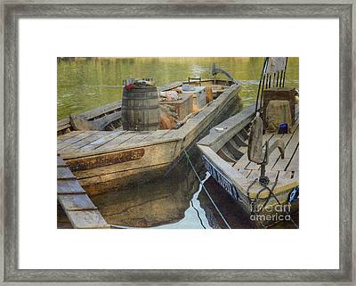 Framed Print featuring the photograph Rockfish Runner by Pete Hellmann