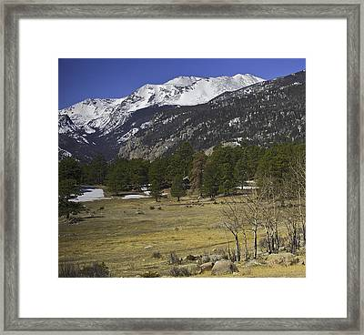 Rockies Framed Print by Tom Wilbert