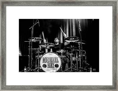 Rockin' Andrew Framed Print by Christopher Holmes