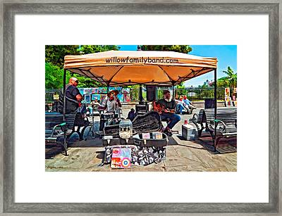 Rockin' The Square Framed Print by Steve Harrington