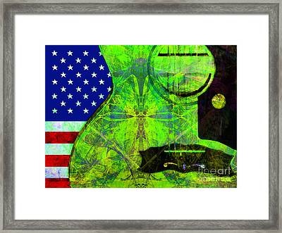 Rockin Usa 20140716 V2 P68 Framed Print by Wingsdomain Art and Photography