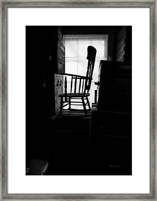 Rocking Chair Framed Print by Bob Orsillo