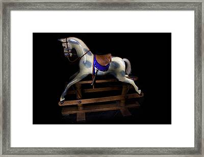 Rocking Horse Paxton House Framed Print