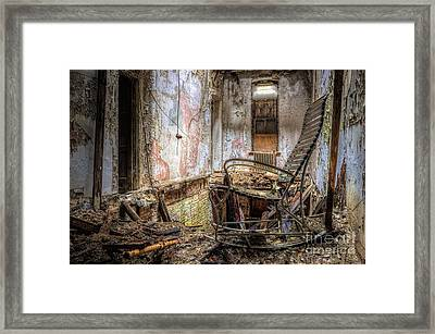 Rocking The Edge Framed Print
