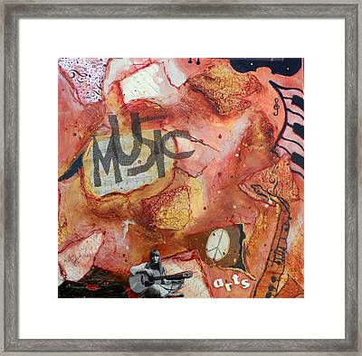 Rockit II Framed Print by Victoria  Johns