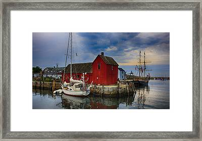 Rockport Harbor Motif Number 1 Framed Print by Stephen Stookey
