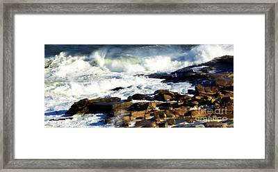 Rockport Framed Print by Kenny Glotfelty