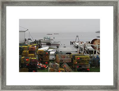 Rockport Maine Framed Print