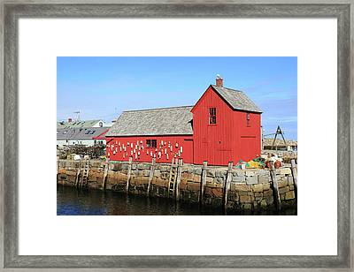 Rockport Motif Number 1 Framed Print