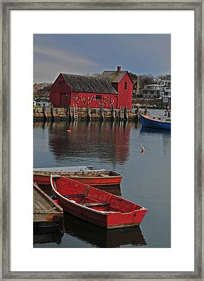 Rockport No. 1 Framed Print by Mike Martin