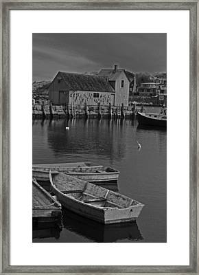 Rockport No.  2 Framed Print by Mike Martin
