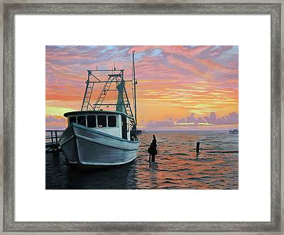 Rockport Sunrise Framed Print