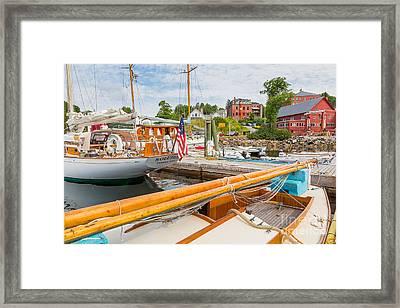 Rockport Village Framed Print by Susan Cole Kelly