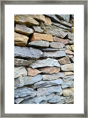 Rocks Framed Print by    Michael