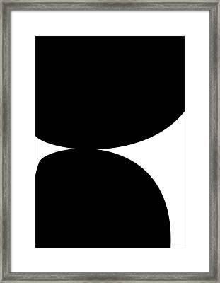 Rocks 2 Framed Print by Kenneth North