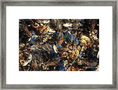 Rocks And Minerals Framed Print by Klara Acel