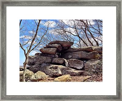 Rocks State Park Framed Print