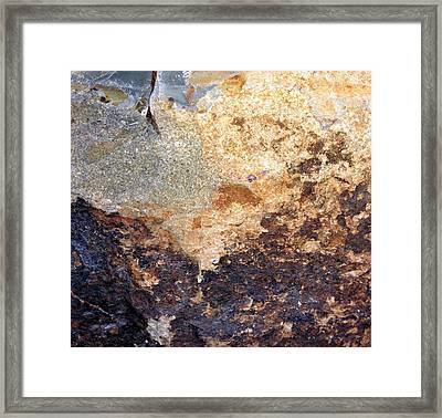 Framed Print featuring the photograph Rockscape 2 by Linda Bailey
