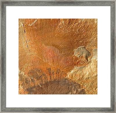 Framed Print featuring the photograph Rockscape 6 by Linda Bailey