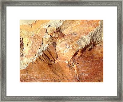 Framed Print featuring the photograph Rockscape 8 by Linda Bailey