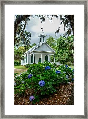 Rockville Church Framed Print